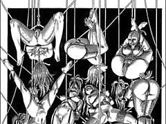 Sexuell Bondage Hardcore Anal