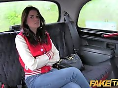 FakeTaxi - UK chav gets her ass spanked