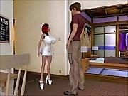 Transexual Dreamgirl animasyon (erkek üzerinde transeksüel) 3D büyük göğüsleri KINERA hentai