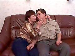 Fett russischer Freund fickt seiner Frau e Vollweiber Mutter