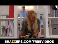 Office slut Shyla Stylez gets a good fuck to release stress