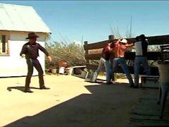 il numero cowboy sporgenza a quattro