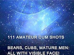 De 111 Ejacs Shots amateurs - ours , petits animaux, Hommes d'âge mûr