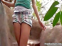 Tiny blondi teini nauttiihyvä vitun Osa 6