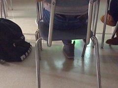 Not teen in class thong slip last part
