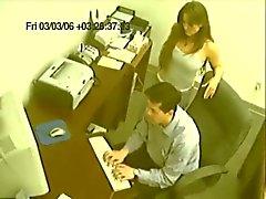 Kamera Caught - Büro İlişki