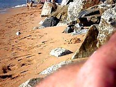 knipperen op het strand