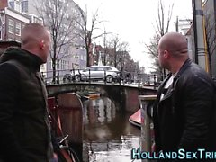 Pounded real dutch hooker