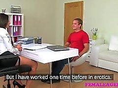 FemaleAgent - Шпилька трахает и не при литья