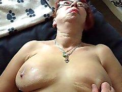 moget manchester hustru lubes up ( vätskan silk )
