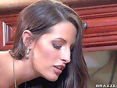 Stunningly sexy wife Kortney Kane with amazing big knockers can't