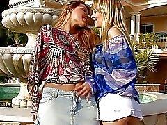 Gençler lezbiyen eğlenceli