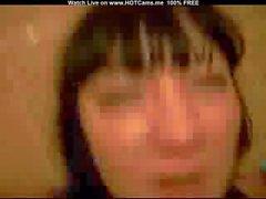 Knubbigt brunett hemmafru inlägget Fuck & Facial