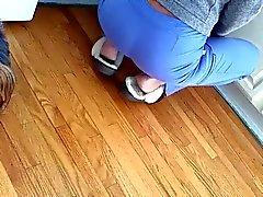 Spycam épouse remous fesses lentement