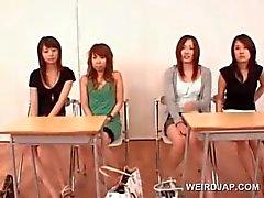 Söpö Aasian Teen tyttöjä osallistuu sukupuoleen seminaariin