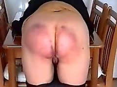 Big Beautiful Bum Beaten