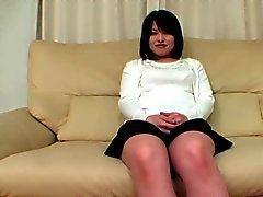 Chubby japanilainen tyttö