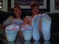 Ashley and Rachel's sole tease