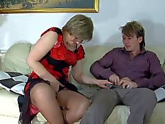 Granny award n14 hairy bbw mature with a toung man - 3 part 6