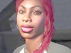 Grand Theft Auto V First Person cena de sexo