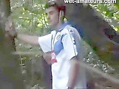 Acople capturado do bosque