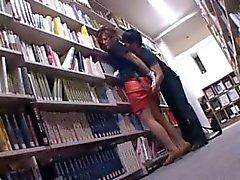 Cazip Asya tatlı pislikkütüphanede upskirt alay