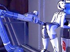 Mass Effect EDI gif kompileringen
