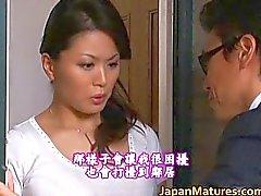 Miki Sato verdadeira beleza asiática é um maduro