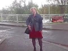Грудастая чешский ИФОМ трахается с крепко в на такси