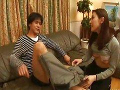 Ass seven Nozomi Mashiro sevgilisi yalıyor