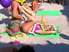 Orgie på stranden