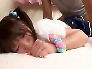 Cute Japanese schoolgirl gets poked and prodded and then dr