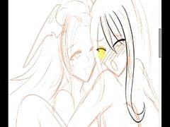 La pintura rápida - Damisela Misiones de Hentai cg