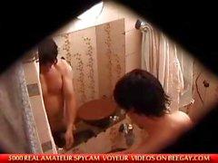поймали мастурбирует в ванной
