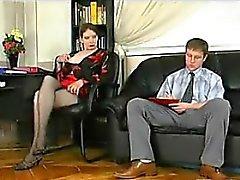 Cornée poilue pute d'âge mûr