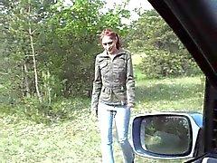 Kokhalzen in de auto