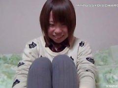 Japanilaisten teini hajauttamisen likaiset märkä- pilluja