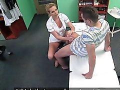 FakeHospital perno llamó dar a enfermero un creampie