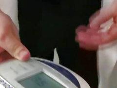 Yaşları doktorun Czech bebeğim Monika kedi reamed parmaklama