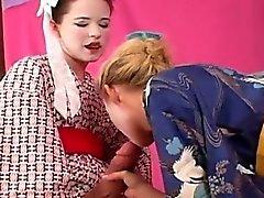 Nasty Girls shag i cazzi duri a nastro e di spruzzare cream tutta