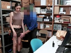 ShopLyfter - Hot Mixed Teen Fucked By Security Guard