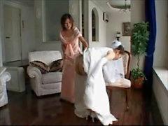trouwjurk spanking
