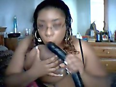 Marketta a The Black SSBBW Dildo di Giocare