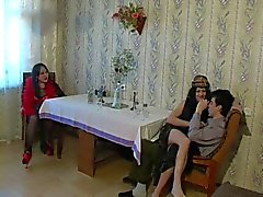 Ev yapımı transeksüel Video
