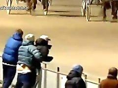 WTF Norweigan Gay Çift A Horse Race At Seks Yapıyorum yakalandı!
