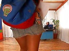 Eva Angelina Schoolgirl