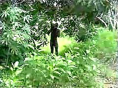 echte Afrikaanse amateur neuken op de boom deel 2