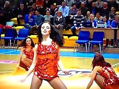 Animadoras de Rusia Hot Dance atractivo
