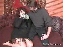 BBW mamie aime boire et baiser