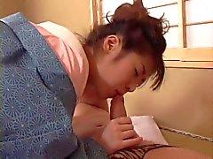 esposa japonês faz sua 2 dever